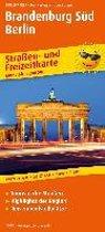 Brandenburg-Berlin-Süd. Straßen- und Freizeitkarte 1 : 200 000