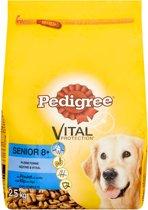 Pedigree Vital Protection Senior 8+ - Kip/Rijst - 3 x 2.5 kg