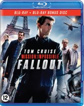 DVD cover van Mission: Impossible 6 - Fallout (Blu-ray)