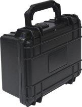 Hardcase koffer stof/waterdicht en schokbestendig 210x167x90mm (wapenkoffer camerakoffer)