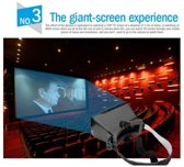 DrPhone Premium 3D Virtual Reality Bril Voor Smartphones Universeel tot 6 Inch (IOS/Android)
