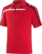 Jako Polo Performance - Sportpolo -  Dames - Maat 34 - 36 - Rood;Zwart;Wit