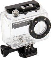 Behuizing Spat!waterdicht beschermings hoes / case voor GoPro HERO 2 Camera (Zwart + Transparant)