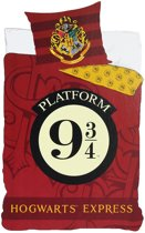Dekbedovertrek Harry Potter Hogwarts Express (single)