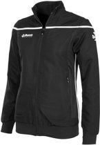 Reece Varsity Woven Jacket Ladies Sportjas Dames - Zwart