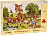 Gnome and Away Puzzel 500 XL stukjes