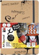 Art journal mixed media dina5 180g