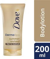 Dove DermaSpa Summer Revived Fair - 200 ml - Bodylotion