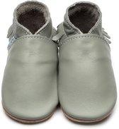 Inch Blue babyslofjes moccasin grey maat 3XL (18 cm)