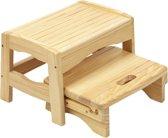 Houten opstapje voor kinderen 2 traps uitschuifbaar Safety 1st