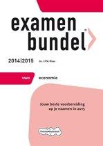 Omslag van 'Examenbundel  - VWO Economie 2014/2015'