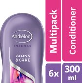 Andrélon Glans & Care Conditioner - 6 x 300 ml - Voordeelverpakking