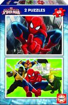 Educa Ultimate Spiderman - 2 x 48 stukjes