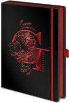 Harry Potter - Gryffindor Foil A5 Premium Notebook