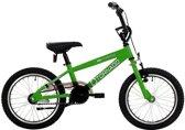 Bike Fun Cross Tornado - Kinderfiets - Jongens en meisjes - Groen - 16 Inch