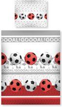 Voetbal Dekbedovertrek goal - eenpersoons met 1 kussensloop
