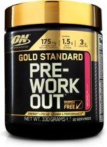 Optimum Nutrition Gold Standard Pre-Workout - 300 gram (30 servings) - Watermelon