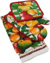 Appels en Peren - Ovenwant en Pannenlap