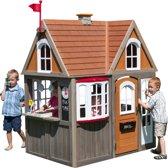 KidKraft Greystone Cottage speelhuis met gemakkelijke EZ Kraft Assembly™