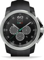 Tutti Milano TM500NO-ST- Horloge -  44 mm - Zwart - Collectie Masso