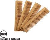 Houten Kam - Bamboe