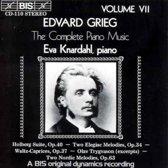 Grieg: Complete Piano Music Vol 7 / Eva Knardahl