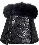 HKM Springschoenen -Glitter- zwart L