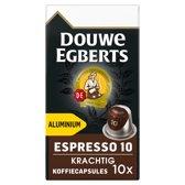 Douwe Egberts Espresso Krachtig koffiecups - 10 x 10 cups