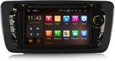 Seat Ibiza inbouwnavigatie 2009 – 2013 werken op Android met Bluetooth, Navigatie, DAB+ en