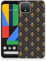 Google Pixel 4 TPU bumper Franse Lelie