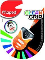Clean Grip potloodslijper 1-gaats - oranje