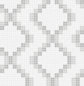 Eclipse Mosaic grijs behang (vliesbehang, grijs)