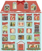 Forest friends christmas house