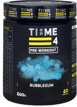 Time 4 Nutrition - Pre Workout - Bubblegum - 600g - 40 servings