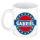 Gabriel naam koffie mok / beker 300 ml  - namen mokken