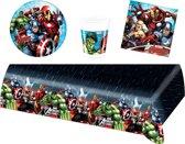 Avengers feestpakket | feestartikelen kinderfeest voor 8 kinderen