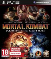 PS3 Game Mortal Kombat (Komplete Edition)