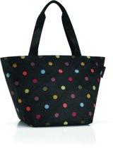 Reisenthel Shopper M Handtas - Shopper - Maat M - Polyester - 15L - Dots Zwart