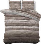 Sleeptime Marcus - Dekbedovertrekset - Lits-Jumeaux - 240x200/220 + 2 kussenslopen 60x70 - Taupe