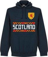 Schotland Team Hooded Sweater - Navy - L