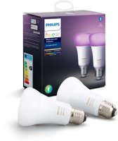 Philips Hue - White and Color Ambiance- E27 - duopack - Bluetooth
