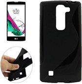 Comutter silicone hoesje LG G4C zwart
