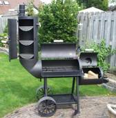 Oklahoma Country Smoker 14 inch BBQ basis