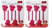 2x Silicone bakvorm lollie Minnie Mouse t.b.v Chocolade