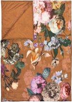 Essenza Fleur - Plaid - 135x170 cm - Leather Brown