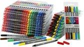 Colortime dubbelstift lijndikte: 2 3+3 6 mm diverse kleuren 260stuks