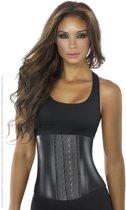 Ann Chery – Waist Trainer zwart metallic -3-hooks XS (kledingmaat 32/34)