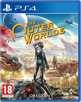 Cover van de game The Outer Worlds - PS4