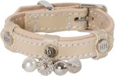 Happy House Fashion - Halsband - Beige - XS - 25-33 cm