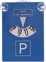 Autostyle Parkeerschijf Met Zuignappen 15,5 X 10,5 Cm Blauw